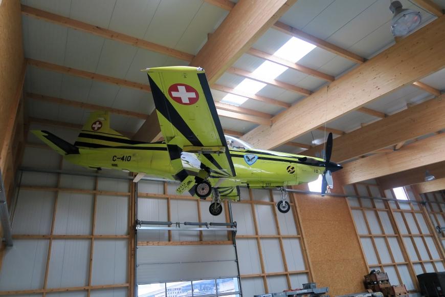 Pilatus PC 9, C-410