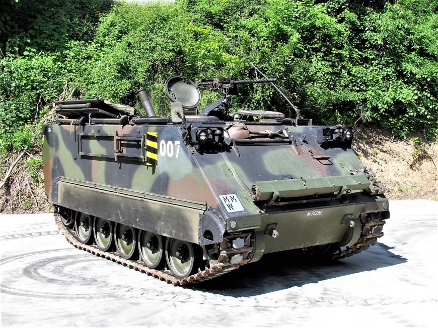 Spz 63 M-113 A1, Mw Pz 64/91, M+74206