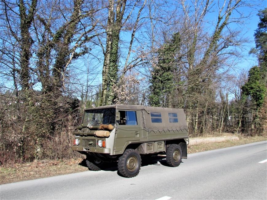 Steyr Puch Pinzgauer 710 M, 1,0 t 4x4 Funkwagen