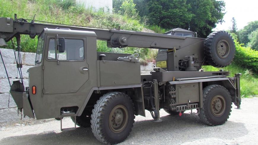 Faun LK 1508/36, Kranw 10tsch gl 4x4