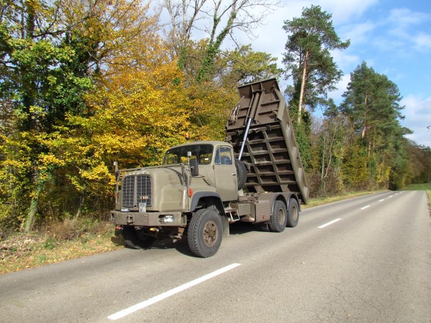 Saurer D330N, Lastw Muldenki 11,5 t 6x4