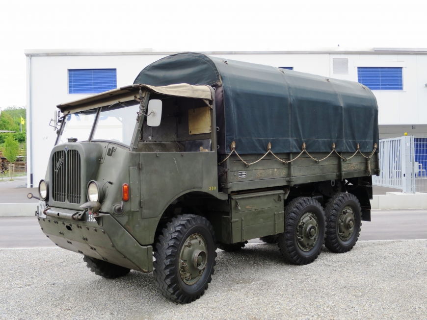 Saurer M6, M. Gelastw 2,5 t 6x6
