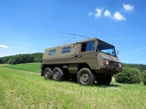 Steyr Puch Pinzgauer 712 M, Lieferw 1,5 t gl 6x6 mit SE-412