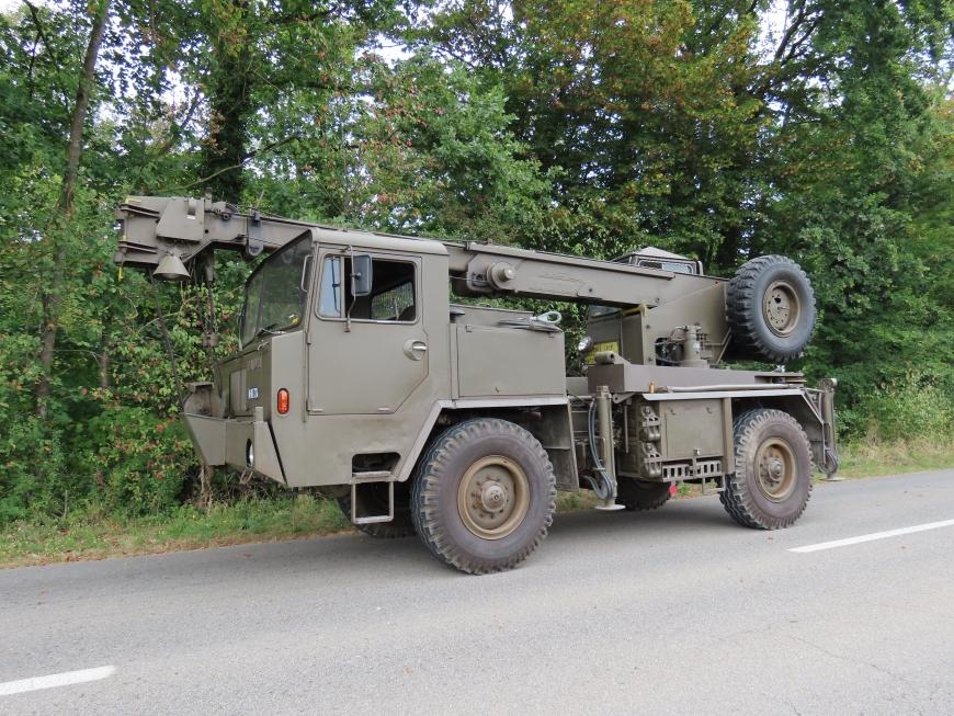 Faun LK1508/36, Kranw 10t sch gl 4x4