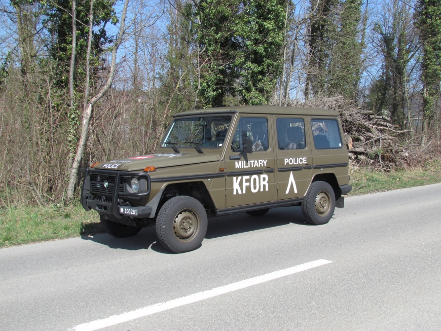 Steyr Puch 290 GDC, Pw Schwissint KA 5 Pl 4x4 gl