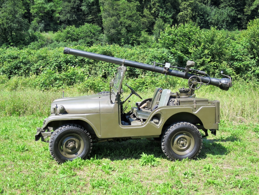 Willys Overland M38 A+, rsf 10,6 cm Pak 58 BAT Jeep 4x4