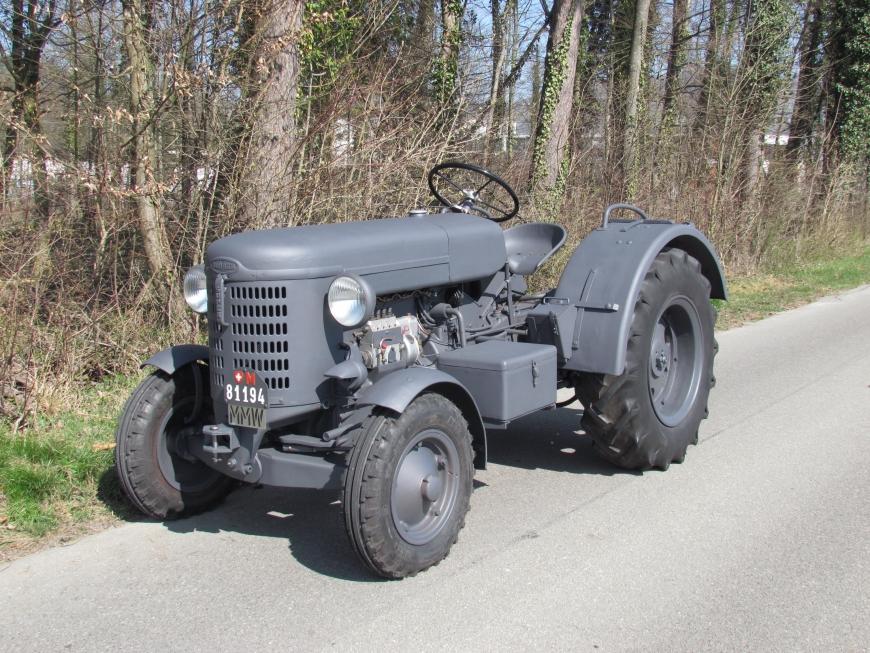 Bührer DD 4, Trak 4x2