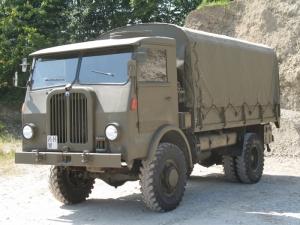 Saurer 4 CM, 5 t 4x4, Fahrschulwagen