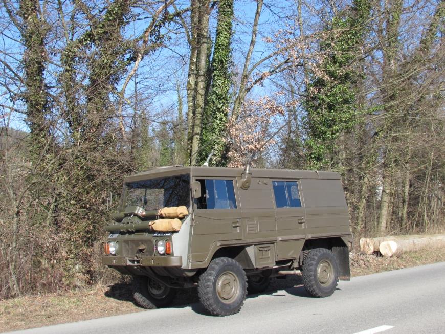 Steyr Puch Pinzgauer 710 K, 4x4, Fkw Kasten L gl